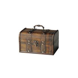 GREENHOUSE/トレジャーボックスポット L ブラウン/3941-C【01】【01】【取寄】《 ガーデニング用品 ポット・鉢 木製 》
