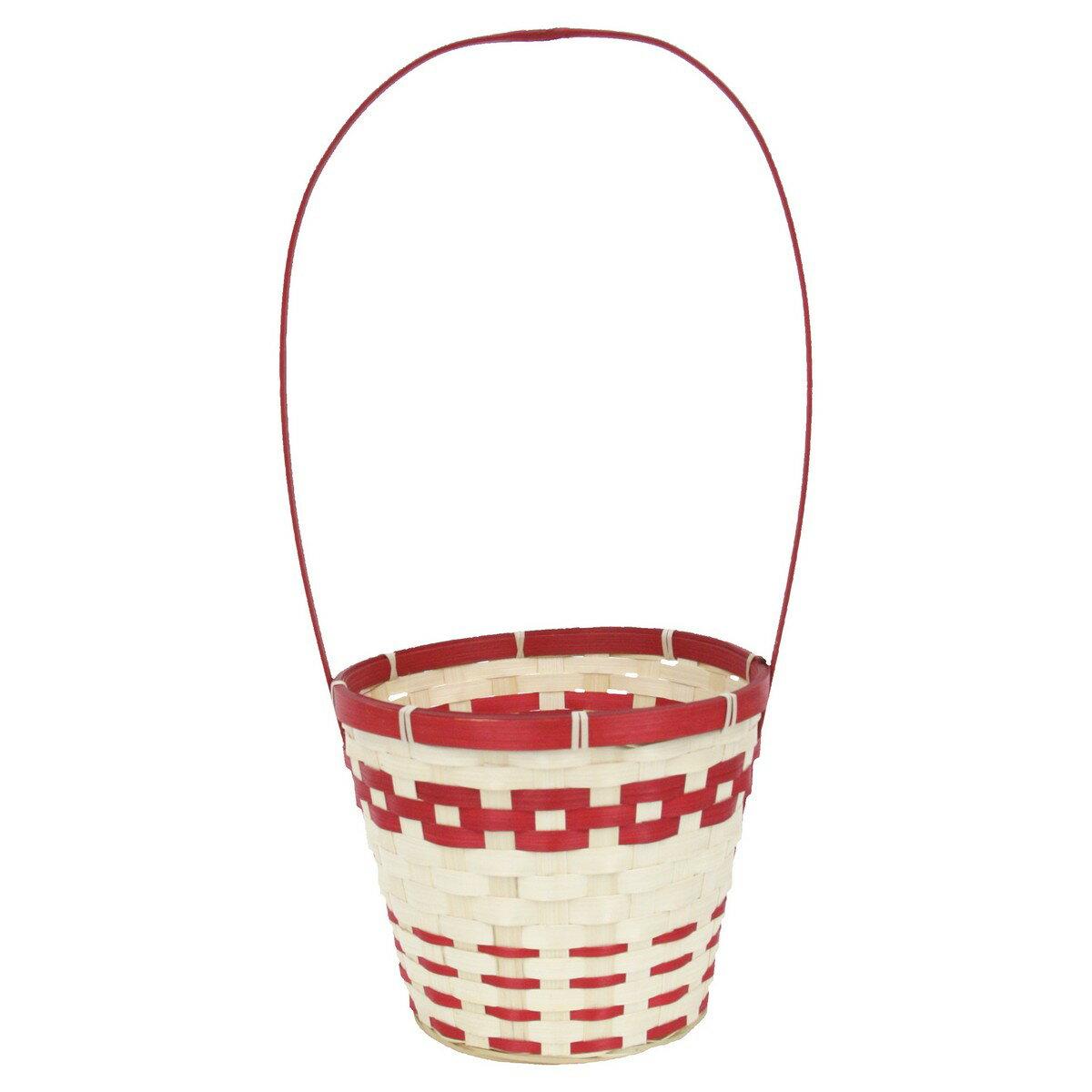 てづくり/プラムプランターD5/H/25-045【01】【取寄】《 花器、リース 花器・花瓶 バスケット(花かご) 》