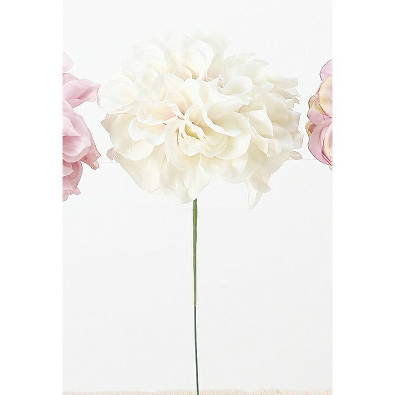 【造花】アスカ/ダリアピック クリームピンク/A-33066-003C【01】【取寄】《 造花(アーティフィシャルフラワー) 造花 花材「た行」 ダリア 》