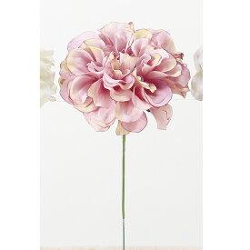 即日 【造花】アスカ/ダリアピック ローズクリーム/A-33066-005C《 造花(アーティフィシャルフラワー) 造花 花材「た行」 ダリア 》
