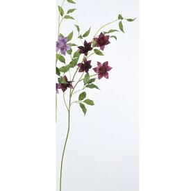 【造花】アスカ/クレマチス×5 フッシャ/A-33041-026【01】【01】【取寄】《 造花(アーティフィシャルフラワー) 造花 花材「か行」 クレマチス 》