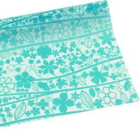HOSHINO/グローヴ2 No.05(ターコイズ)/336915【01】【取寄】《 ラッピング用品 ・梱包資材 ラッピングペーパー(包装紙) 包装紙(ロール) 》