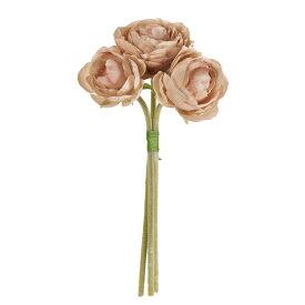 【造花】MAGIQ(東京堂)/フロストラナンブーケ #13 BEIGE 171/FM005431-013【01】【取寄】《 造花(アーティフィシャルフラワー) 造花 花材「ら行」 ラナンキュラス 》