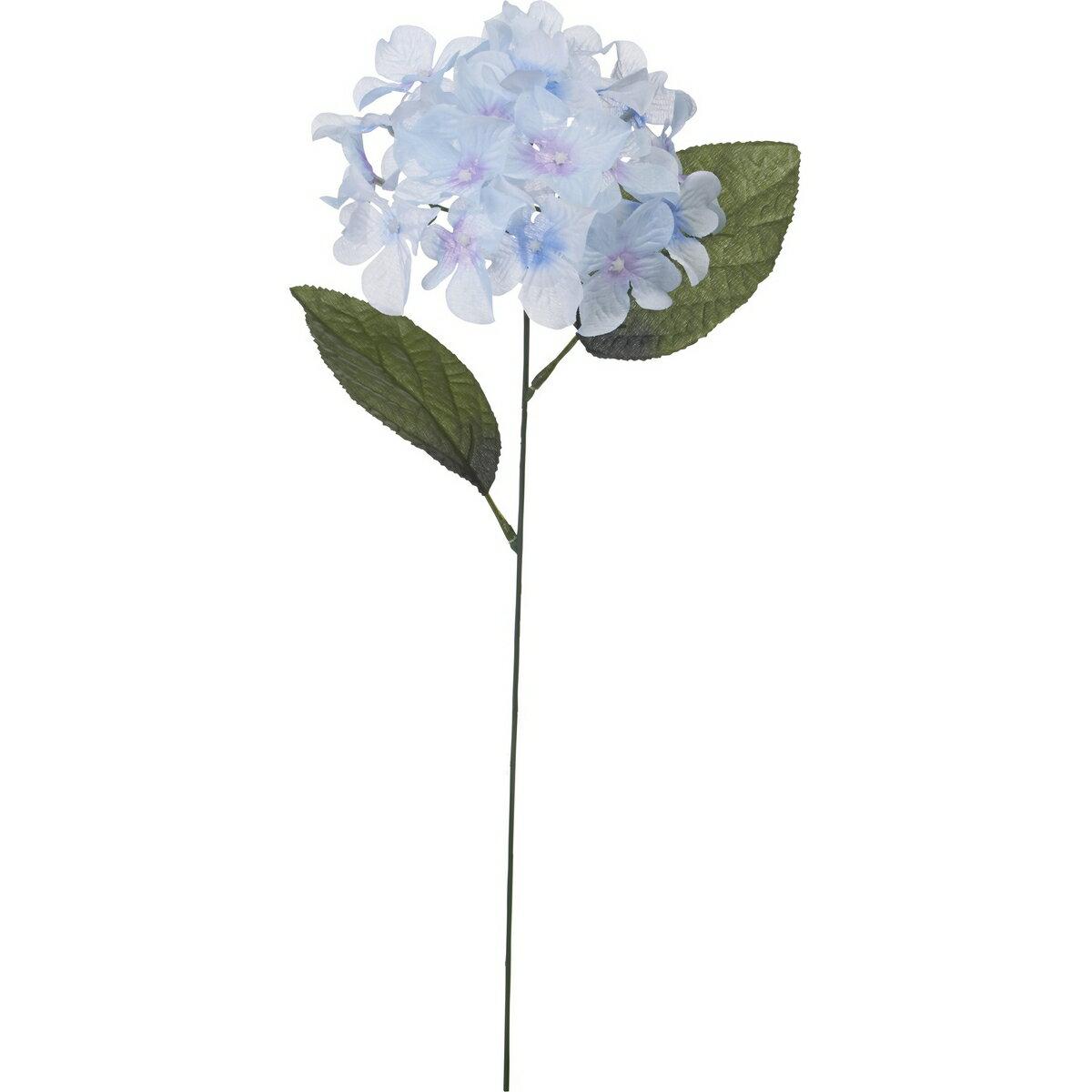 【造花】YDM/アジサイシングル ライトブルー/FS8247-LBL【01】【取寄】《 造花(アーティフィシャルフラワー) 造花 花材「あ行」 あじさい(紫陽花) 》