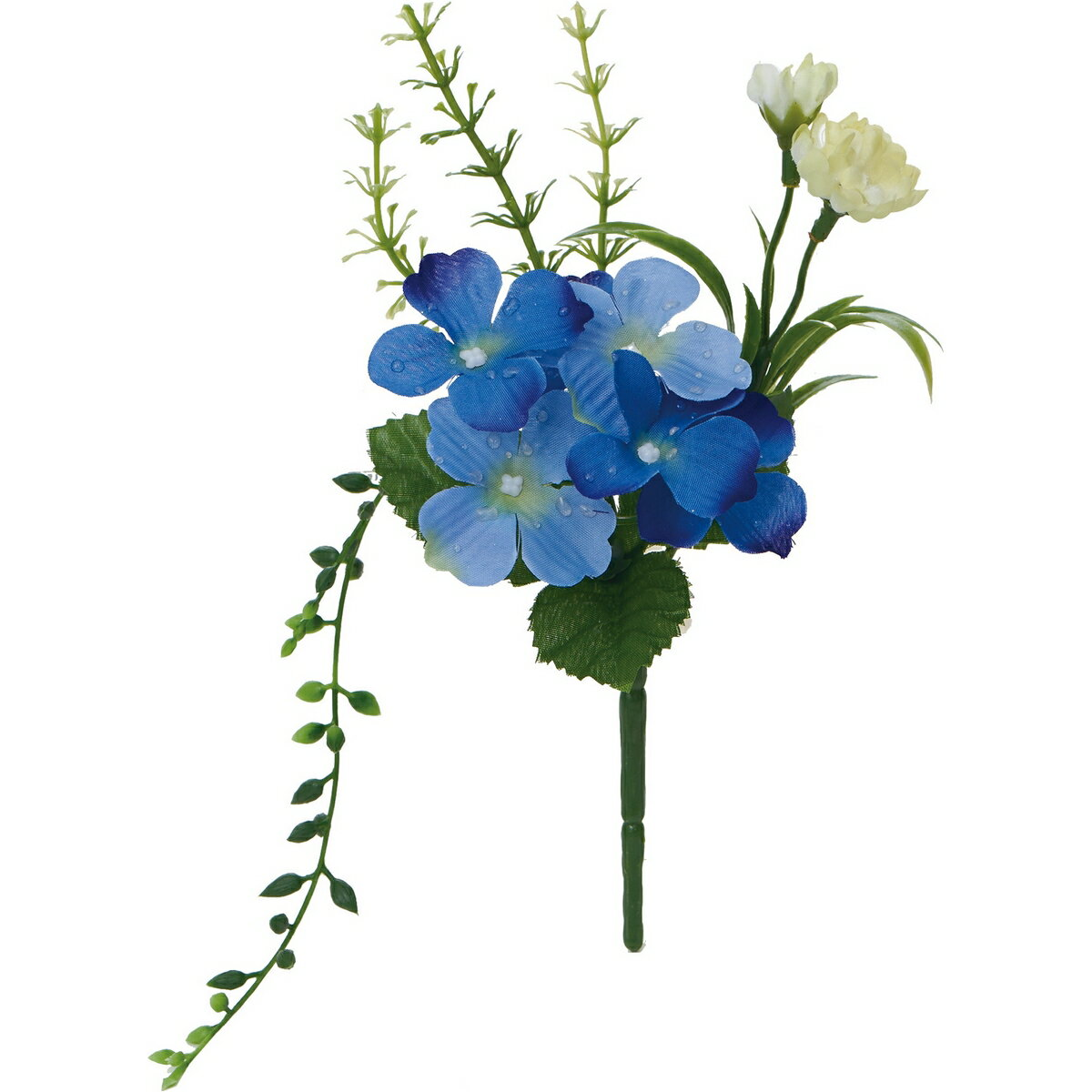 【造花】YDM/アメツキアジサイミックスブッシュ パープル/FS8248-PU【01】【01】【取寄】《 造花(アーティフィシャルフラワー) 造花 花材「あ行」 あじさい(紫陽花) 》