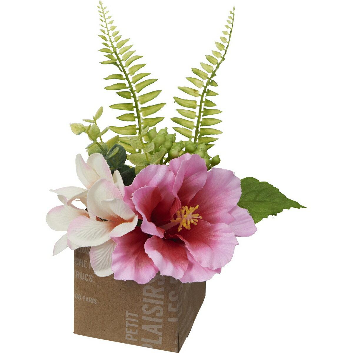【造花】YDM/ハイビスカスポット ビューティー/FS8253-BTY【01】【01】【取寄】《 造花(アーティフィシャルフラワー) 造花 花材「は行」 ひまわり 》