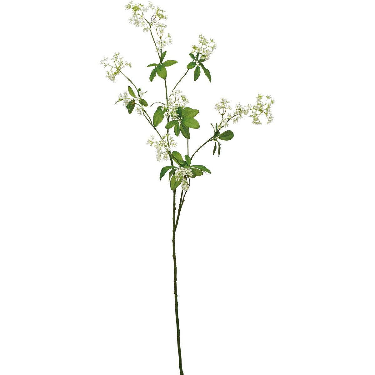 【造花】YDM/ディルフラワーブランチ ホワイト/FA7043-W【01】【01】【取寄】《 造花(アーティフィシャルフラワー) 造花 花材「た行」 その他「た行」造花花材 》