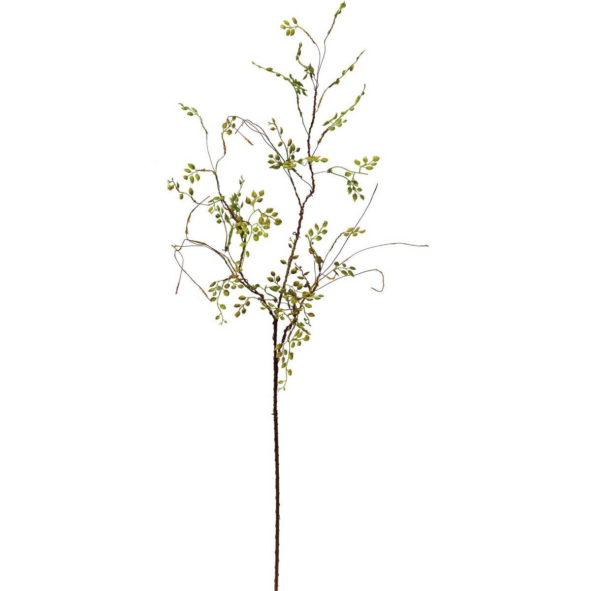 【造花】YDM/フレキシブルウィローリーフブランチ グリーン/FG4763-GR【01】【取寄】《 造花(アーティフィシャルフラワー) 造花 花材「あ行」 アリウム 》