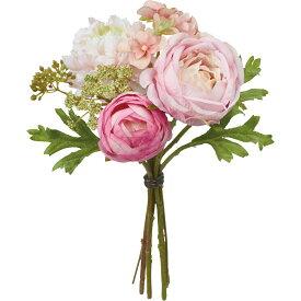 【造花】YDM/フレッシュローズラナンバンドル ピンク/FB2454-P【01】【01】【取寄】《 造花(アーティフィシャルフラワー) 造花 花材「ら行」 ラナンキュラス 》