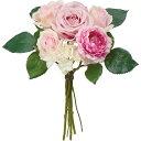 特価◎【造花】YDM/ミレーヌローズラナンバンドル ピンクビューティー/FB2455-PBT|造花 バラ【01】【取寄】《 造花(…
