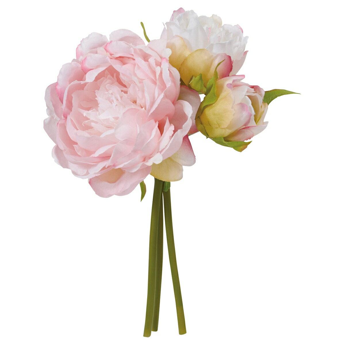 【造花】YDM/ピオニーバンドル ピンク/FB2449-P《 造花(アーティフィシャルフラワー) 造花 花材「さ行」 シャクヤク(芍薬)・ボタン(牡丹)・ピオニー 》