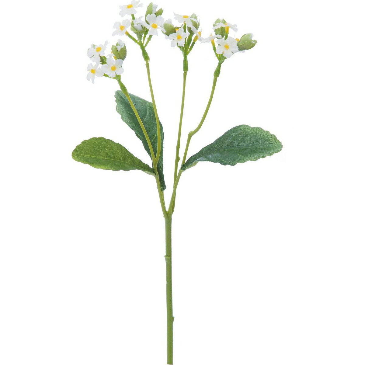 【造花】YDM/ワスレナグサ クリーム/FFH-0015-CR【01】【取寄】[24本]《 造花(アーティフィシャルフラワー) 造花 花材「わ行」 忘れな草 》