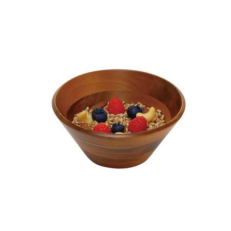 丸和貿易/アカシア ラウンドボール (S)/100372001【01】【取寄】《 雑貨 キッチン用品・調理器具 和食器 》