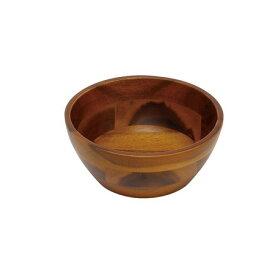 丸和貿易/アカシア サラダボール2型 (S)/100374901【01】【取寄】雑貨 キッチン用品・調理器具 和食器 手作り 材料