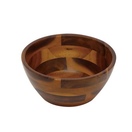 丸和貿易/アカシア サラダボール2型 (L)/100374903【01】【取寄】《 雑貨 キッチン用品・調理器具 和食器 》