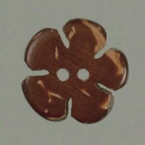 NBK/ハワイアンボタン(ヤシの実ボタン)12個/CG901【07】【取寄】 手芸用品 ソーイング資材 ボタン 手作り 材料