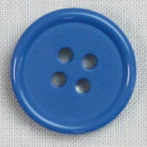 NBK/カラーボタン 13mm 12個 青/CG1700-13-52【01】【取寄】手芸用品 ソーイング資材 ボタン 手作り 材料