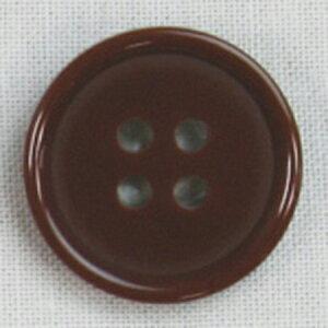 NBK/カラーボタン 15mm 8個 茶/CG1700-15-44【07】【取寄】 手芸用品 ソーイング資材 ボタン 手作り 材料