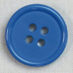 NBK/カラーボタン 15mm 8個 青/CG1700-15-52【01】【取寄】手芸用品 ソーイング資材 ボタン 手作り 材料