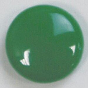 NBK/カラーボタン 15mm 8個 グリーン/CG3400-15-63【07】【取寄】 手芸用品 ソーイング資材 ボタン 手作り 材料