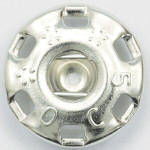 NBK/ニュー500番 スナップ 白(シルバー) 36個付/F500-2W【01】【取寄】手芸用品 ソーイング資材 ボタン 手作り 材料