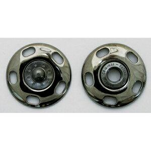 NBK/ジャンボスナップ角 30mm 3個 ブラックニッケル/G506-79-30-BN【01】【取寄】手芸用品 ソーイング資材 ボタン 手作り 材料