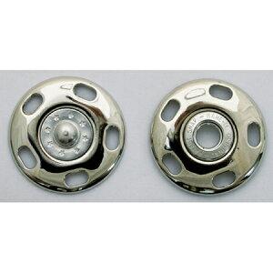 NBK/ジャンボスナップ角 30mm 3個 シルバー/G506-79-30-S【01】【取寄】手芸用品 ソーイング資材 ボタン 手作り 材料