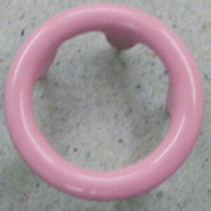 NBK/リングスナップボタン 10mm ピンク 100組/F12-56-100【01】【取寄】手芸用品 ソーイング資材 ボタン 手作り 材料