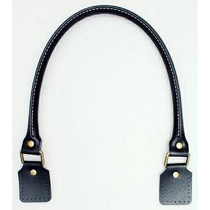 NBK/合皮ハンドル 64cm 2本 黒/MAW22-B【07】【取寄】 手芸用品 持ち手・金具 持ち手 手作り 材料