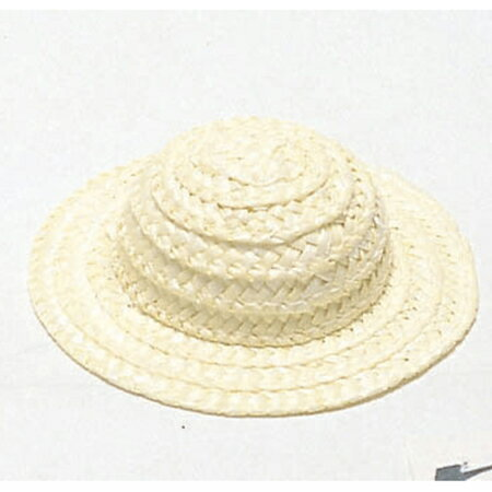 NBK/麦わら帽子 豆 Φ9.5cm/CC100【01】【取寄】《 手芸用品 クラフト ドール用品 》