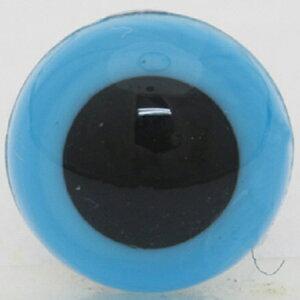 NBK/アイボタン クリスタルアイ 9mm 14個 ブルー/CE213【01】【取寄】手芸用品 クラフト 目玉ボタン 手作り 材料