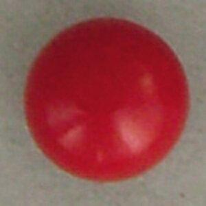 NBK/差し込み型目玉釦(ボタン) 3.5mm 1000個 赤/CE423-1000【01】【取寄】手芸用品 クラフト 目玉ボタン 手作り 材料