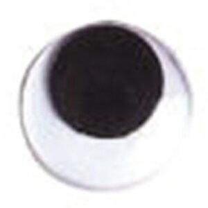NBK/動眼 貼り付け 9mm 1000個 黒/CE106-1000【01】【取寄】手芸用品 クラフト 目玉ボタン 手作り 材料