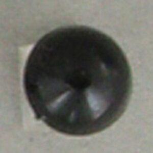 NBK/目玉釦(ボタン) 足付き 尿素 11.5mm 144個 黒/CE144-1-144【07】【取寄】 手芸用品 クラフト 目玉ボタン 手作り 材料