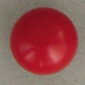 NBK/目玉釦(ボタン) 足付き 尿素 8mm 144個 赤/CE162-144【07】【取寄】 手芸用品 クラフト 目玉ボタン 手作り 材料