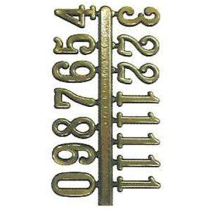 ヂヤンティ/クオーツ用 アラビア文字符 15mm/BF202【07】【取寄】 手芸用品 クラフト 時計 手作り 材料