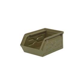 ダルトン/ミニパーツボックス オリーブドラブ/CH15-H529OV【01】【取寄】《 店舗ディスプレイ 家具・収納 小物収納・収納ボックス 》