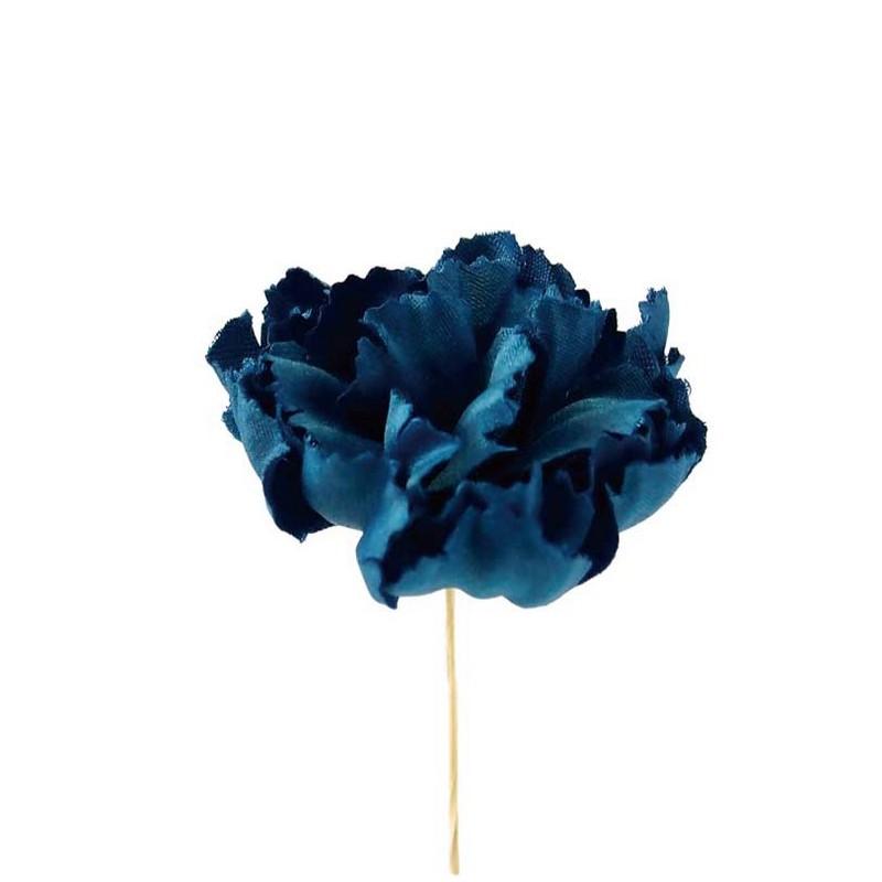 【造花】サンセイ/FS-02 カーネ #63ネイビー 2本/台紙付 731/701632【01】【取寄】[3個]《 造花(アーティフィシャルフラワー) 造花 花材「か行」 カーネーション 》