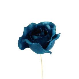 【造花】サンセイ/FS-01 ローズ #63ネイビー/701680|造花 バラ【01】【取寄】[12本]《 造花(アーティフィシャルフラワー) 造花 花材「は行」 バラ 》