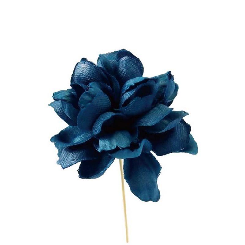 【造花】サンセイ/FS-08 ダリア #63ネイビー 2本/台紙付 735/701636【01】【取寄】[3個]《 造花(アーティフィシャルフラワー) 造花 花材「た行」 ダリア 》