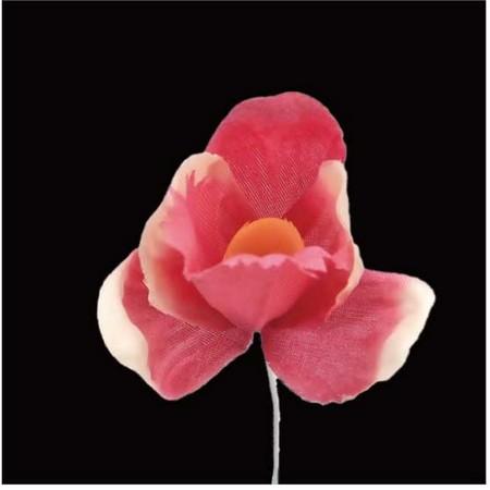 【造花】サンセイ/NY-045クロッカス #04ピンク/569299【01】【01】【取寄】[12本]《 造花(アーティフィシャルフラワー) 造花 花材「あ行」 アヤメ・アイリス 》