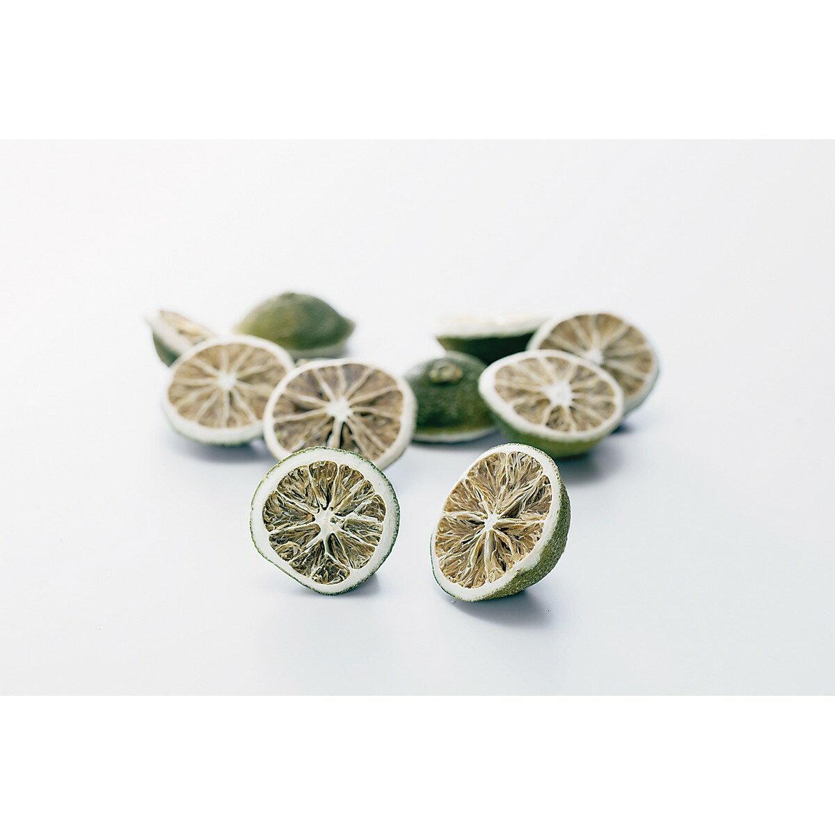 【ドライ】大地農園/ミニレモン・ハーフ グリーン 約9個/20090-700《 ドライフラワー ドライ実物&フルーツ フルーツ、香りのアイテム 》