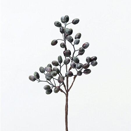 【造花】アスカ/ベリースプレー プラム/A-47755-037【01】【取寄】《 造花(アーティフィシャルフラワー) 造花実物、フェイクフルーツ ベリー 》