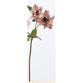 即日 【造花】アスカ/クリスマスローズ×2 つぼみ×1 モ−ブ/A-33120-055《 造花(アーティフィシャルフラワー) 造花 花材「か行」 クリスマスローズ 》