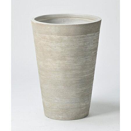 アスカ/ポット(L) スト−ン/A-10690-011S【01】【取寄】《 花器、リース 花器・花瓶 プラスチック・アクリル花器 》