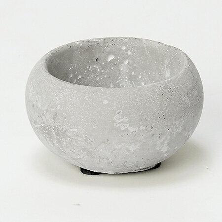 アスカ/ラウンドベース スト−ン/A-10684-011S【01】【取寄】《 花器、リース 花器・花瓶 陶器花器 》