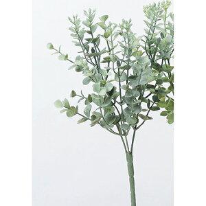 即日 【造花】アスカ/ユーカリブッシュ フロストグリ−ン/A-42725-051F