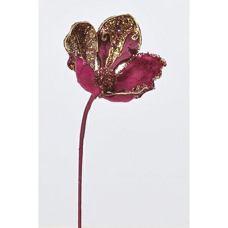 【造花】アスカ/マグノリアピック/AX68916【01】【01】【取寄】《 造花(アーティフィシャルフラワー) 造花 花材「ま行」 モクレン(木蓮)・マグノリア 》