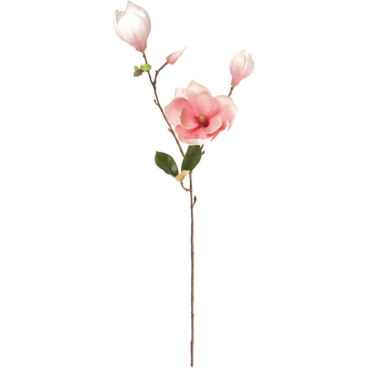 【造花】MAGIQ(東京堂)/ソレイユマグノリア #2 ピンク/FM002023-002【01】【取寄】《 造花(アーティフィシャルフラワー) 造花 花材「ま行」 モクレン(木蓮)・マグノリア 》