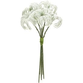 【造花】MAGIQ(東京堂)/クレマチスシードピック ホワイト 6本/FX001924【01】【取寄】《 造花(アーティフィシャルフラワー) 造花 花材「か行」 クレマチス 》